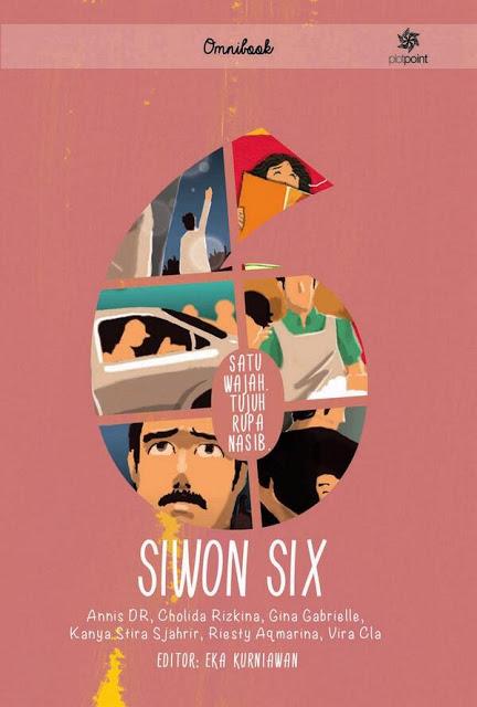 Siwon Six buku kumpulan cerpen