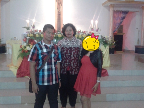 with all family, I wish my Dad here :( hiks